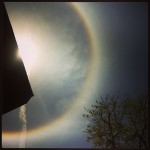 Beautiful Sun Halo